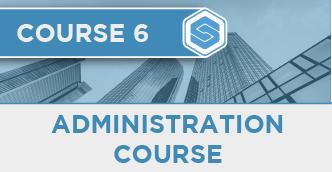 Course 6 - Admin
