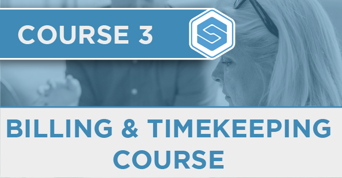 Course 3 - Billing and timekeeping