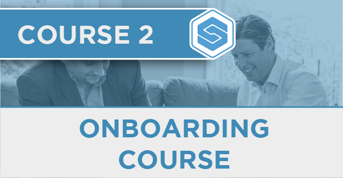 Course 2 - Onboarding